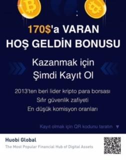 Huobi Global $170 welcome bonus link
